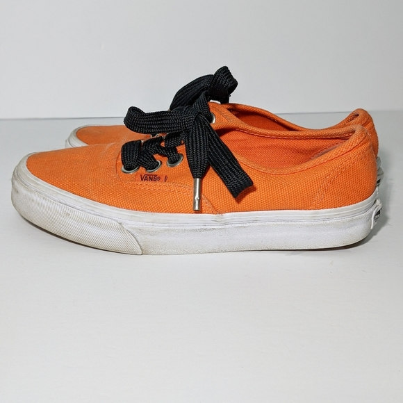 Vans Authentic Orange Sneakers